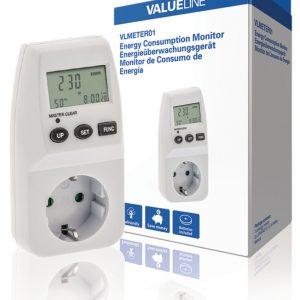 Valueline VLMETER01 Energie Consumptie Meter 3600W
