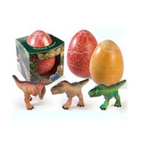 Ei met Dino 20 cm Assorti
