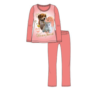 Pyjama Hond/Kat Maat 98/104