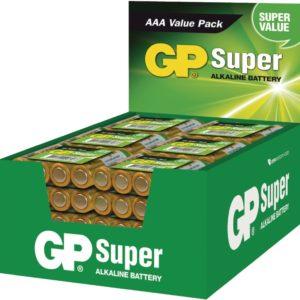 GP Alkaline Batterij AAA 1.5V Display 48x4 Stuks
