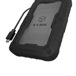Icy Box IB-AC603P-C31 Harde Schijf Behuizing Sata Zwart