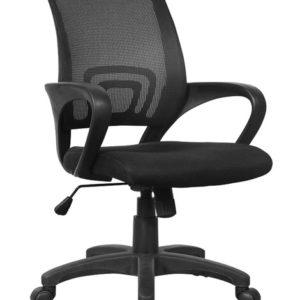 Kangaro Managers Bureaustoel In Hoogte Verstelbaar Zwart