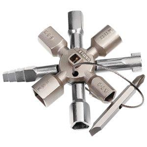 Knipex Kp-001101 Twinkey voor Alle Standaard Schakelkasten en Afsluitsystemen