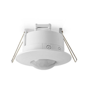 Nedis PIRPI31WT Bewegingsmelder 3-aderige Installatieinstelbare Vertragingstijd En Lichtgevoeligheid