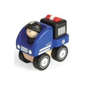 Pintoy P10507 Houten Mini Politieauto