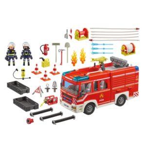 Playmobil 9464 Brandweerauto met Pomp/Licht/Geluid
