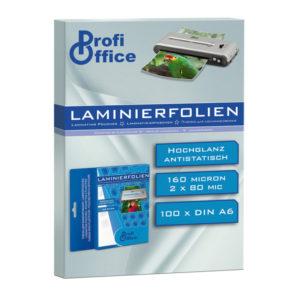 ProfiOffice PO-19001 Lamineerhoes 80 Micron 100 Vel A6 111x154mm