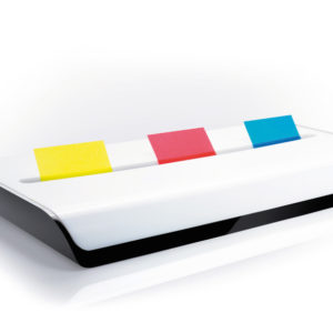 Sigel SI-SA109 Dispenser Voor Index EYE STYLE Wit/zwart Incl Strookjes 3x50 Vel