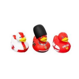 Simply for Kids 22225 Set van 3 Designer Badeendjes Engeland