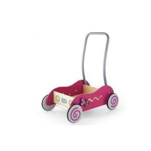 Simply for Kids 598531 Houten Baby Duwwagen Roze