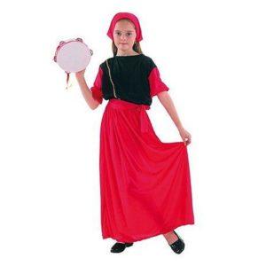 Clown Kinderkostuum Zigeunerinnetje 10-12 jaar
