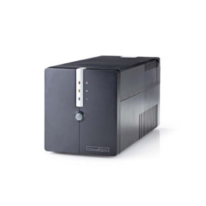Nedis UPSD1000VBK Noodstroomvoeding (ups) 1000 W 600 W 4 Aansluitingen