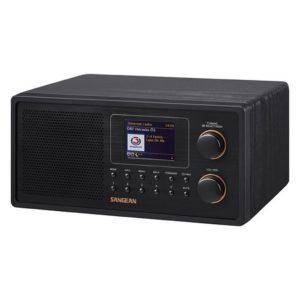 Sangean WFR30 Internetradio Zwart/Hout