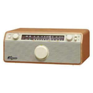 Sangean WR-12 Genuine 120 Retro FM/AM-Radio Hout/Wit