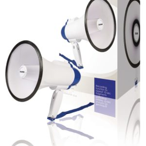 Sweex SWMEGA10 Megafoon Ingebouwde Microfoon Wit/blauw