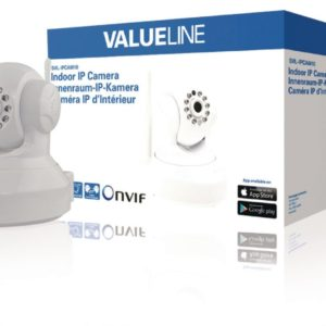 Valueline SVL-IPCAM10 Hd Pan-tilt Ip Camera Binnen 720p Wit